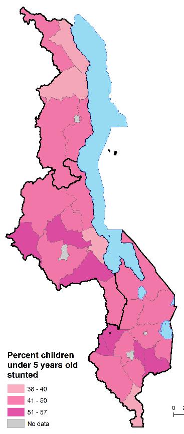 stunting map